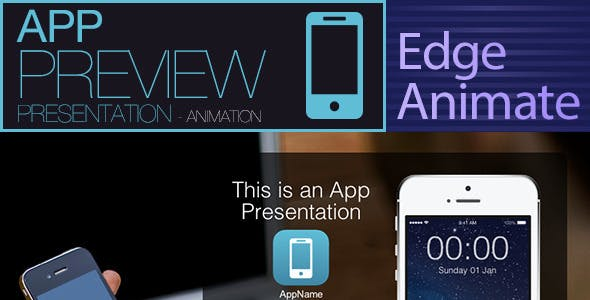 AppPreview Presentation - Edge Animate