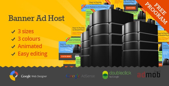 Banner Ad Host - CodeCanyon Item for Sale