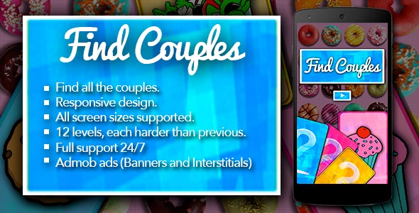 Find Couples with Admob - CodeCanyon Item for Sale