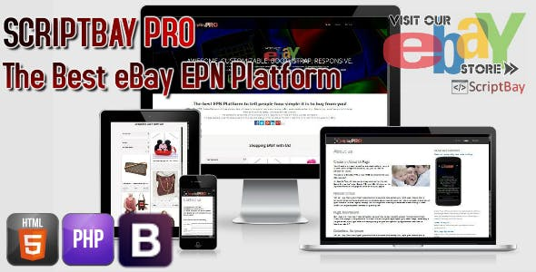ScriptBay PRO eBay Seller Minisite