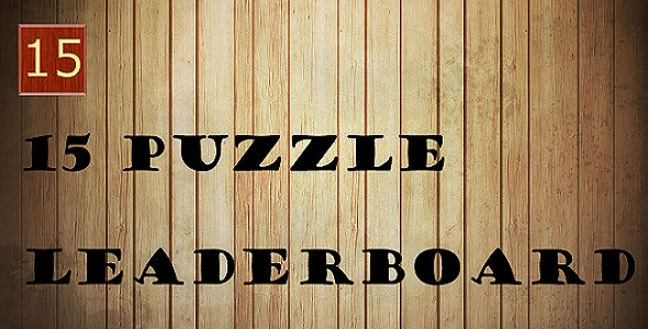 15 Puzzle - CodeCanyon Item for Sale