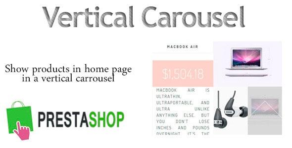 Prestashop VerticalCarrousel - CodeCanyon Item for Sale