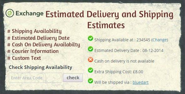 iThemes Exchange Shipping Estimates