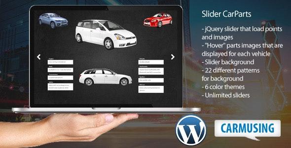 Slider CarParts - CodeCanyon Item for Sale