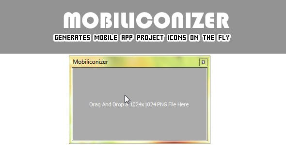 Mobiliconizer (generate mobile app icons onthefly)