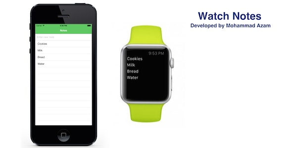 Watch Notes - CodeCanyon Item for Sale