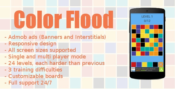 Color Flood with Admob - CodeCanyon Item for Sale
