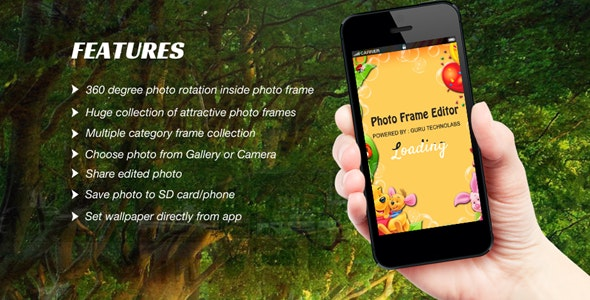Photo Frame Editor Offline - CodeCanyon Item for Sale
