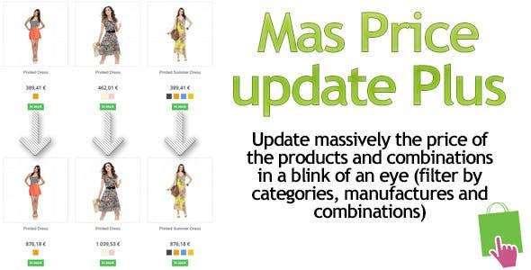 Prestashop MassPriceupdate-Plus Module