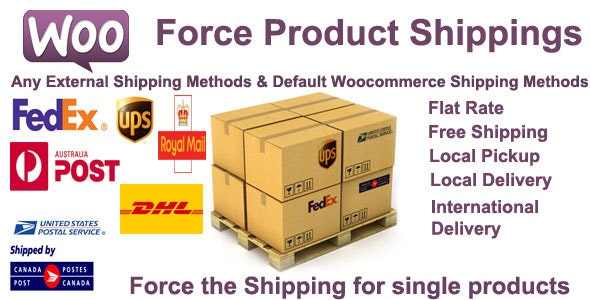 Woocommerce Force Product Shippings - CodeCanyon Item for Sale