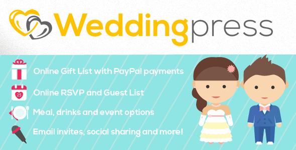 WeddingPress - WordPress Wedding Plugin - CodeCanyon Item for Sale