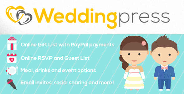 WeddingPress - WordPress Wedding Plugin