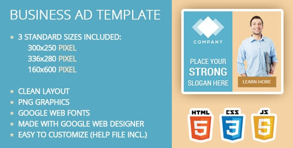 Business Ad Template By Ilove2design Codecanyon
