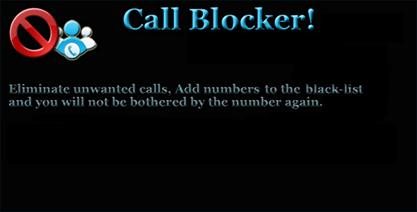 Calls and SMS blocker