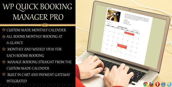 WP Quick Booking  Manager Pro