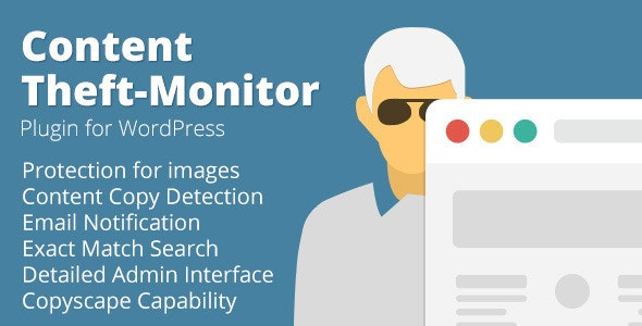 Content Theft-Monitor Plugin for WordPress - CodeCanyon Item for Sale