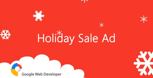 Holiday Sale HTML5 Ad - CodeCanyon Item for Sale
