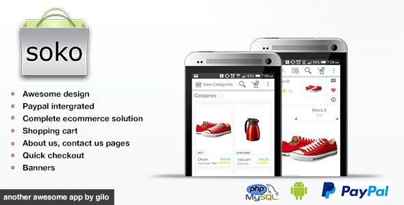 Soko - Mobile Store With PHP Backend