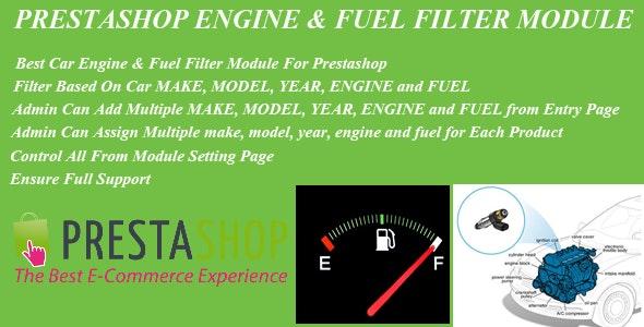 Prestashop Car Engine & Fuel Filter Module - CodeCanyon Item for Sale