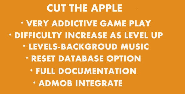 Cut The Apple - CodeCanyon Item for Sale