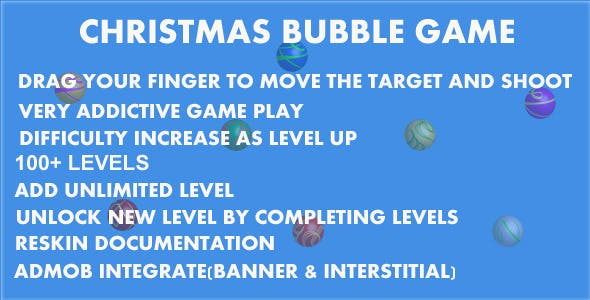Christmas Bubble Game