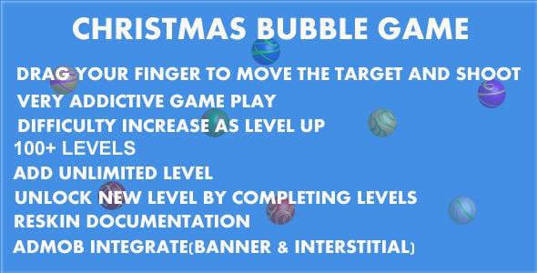 Christmas Bubble Game
