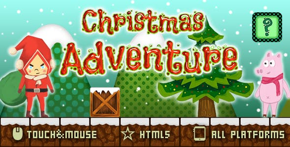 Christmas Adventure-HTML5 Game