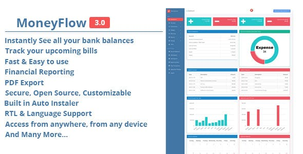 MoneyFlow - Accounting Software