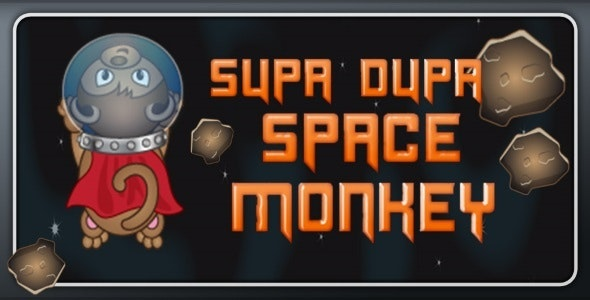 Super Dupa Space Monkey - CodeCanyon Item for Sale