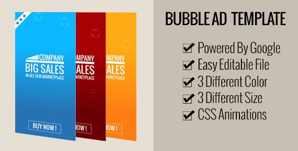 Bubble AD HTML 5 TEMPLATE