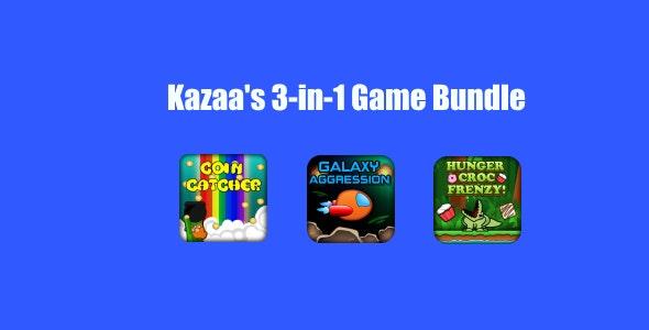 Kazaa's 3 in 1 Arcade Bundle #1 - CodeCanyon Item for Sale