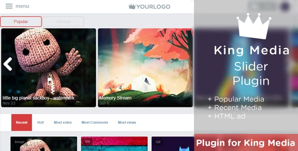 KingMEDIA - Slider Plugin