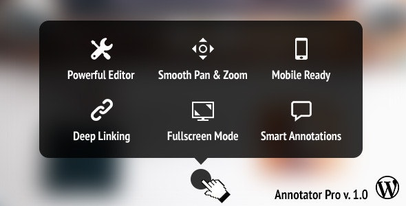 Annotator Pro WP - Image Tooltips & Zooming - CodeCanyon Item for Sale