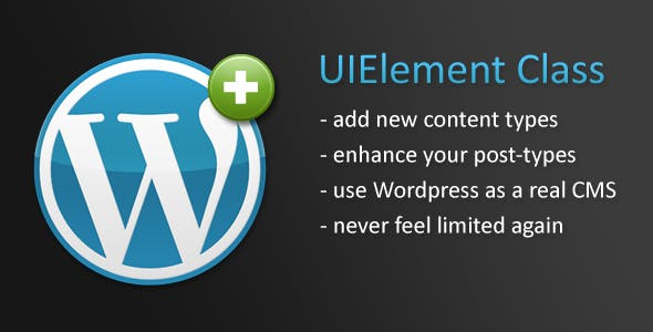 Wordpress UIElement Class