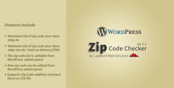 Zip Code Checker