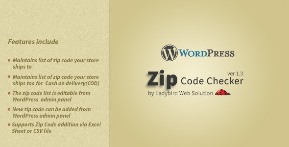 Zip Code Checker - CodeCanyon Item for Sale
