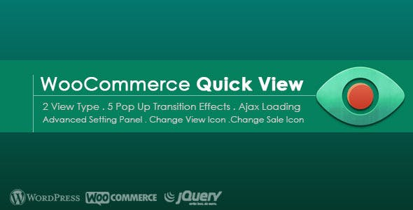 Advanced Quick View for WooCommerce