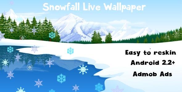 Snowfall Live Wallpaper - CodeCanyon Item for Sale