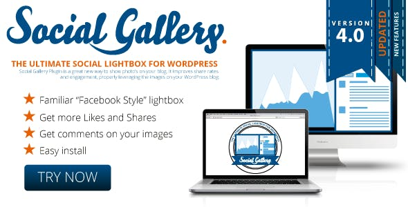 Social Gallery WordPress Photo Viewer Plugin        Nulled
