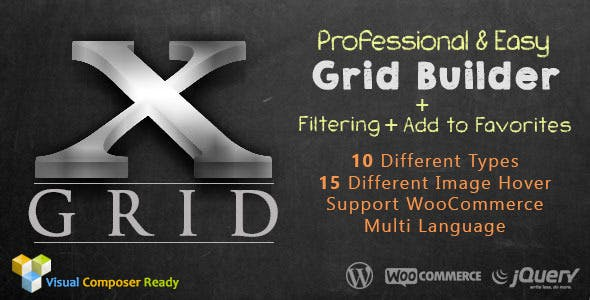 GRID-X: Advanced Wordpress Post Grid Layout + Ajax Filtering