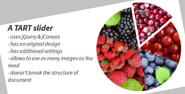 A TART jQuery HTML5 Slider - CodeCanyon Item for Sale