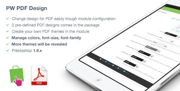 PDF Design for PrestaShop - CodeCanyon Item for Sale