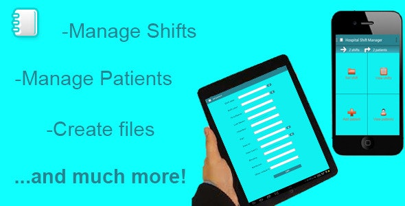 Hospital Shift and Patient Manager - CodeCanyon Item for Sale