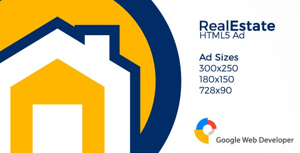 RealEstate HTML5 Ad - CodeCanyon Item for Sale