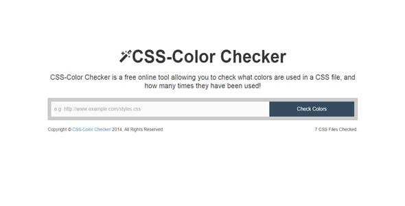 CSS-Color Checker