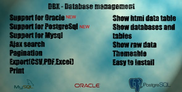 DBX Manager