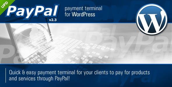 PayPal Payment Terminal Wordpress