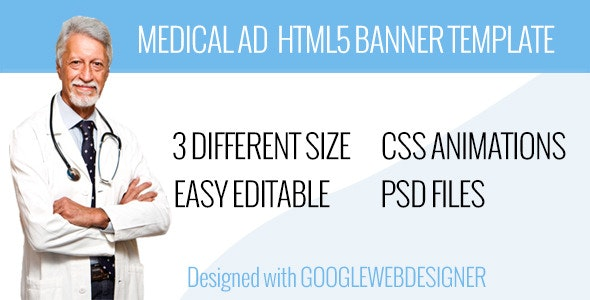 Medical AD Template - CodeCanyon Item for Sale
