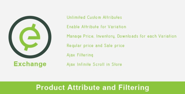 Exchange - Product Attribute and Filtering - CodeCanyon Item for Sale