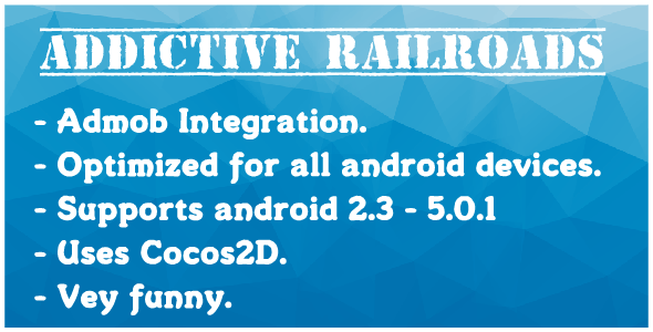 Addictive RailRoads With AdMob